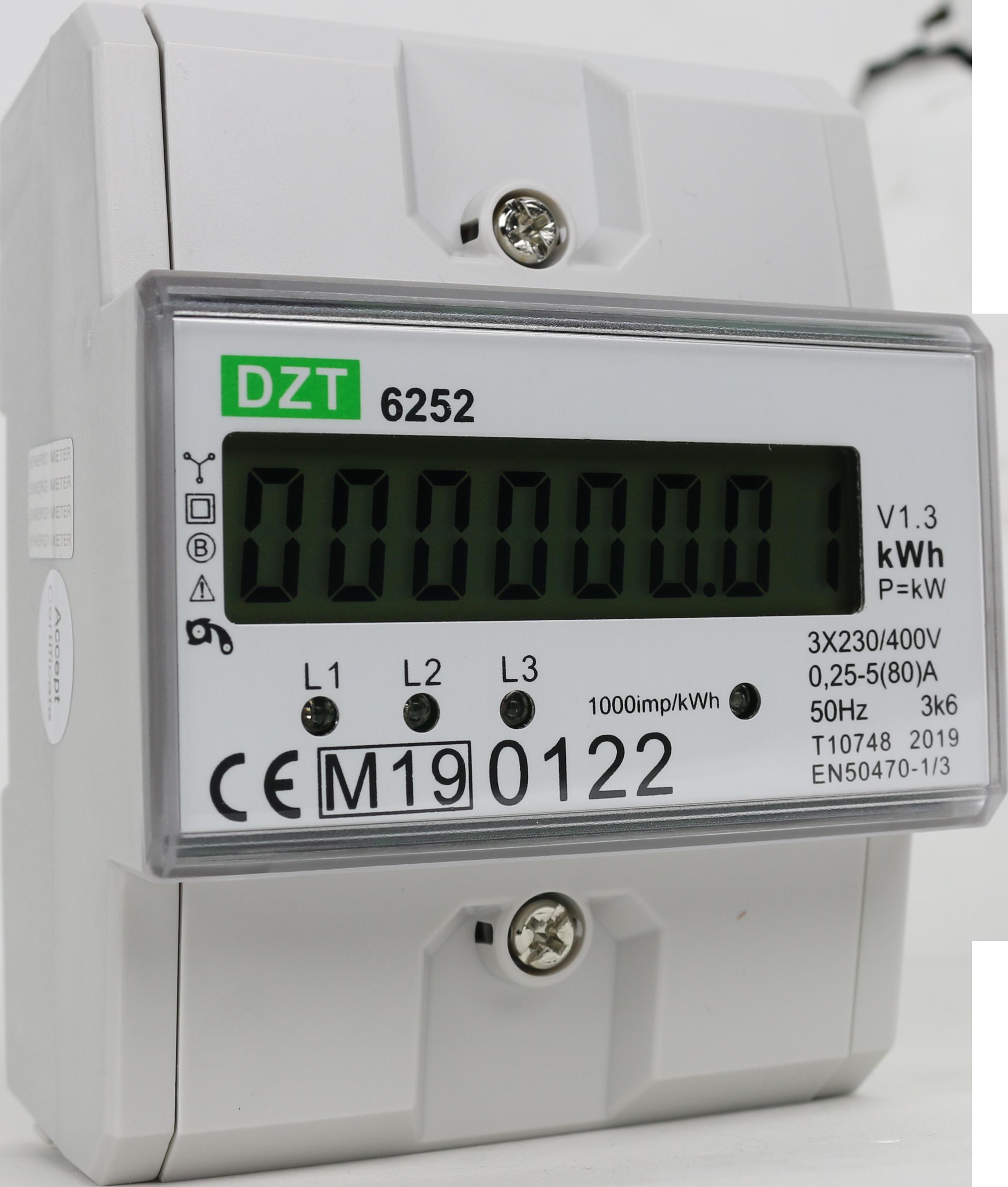 Hoe sluit ik een kWh meter aan?